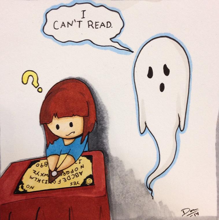 Failed Ghost Writer
